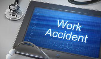 仕事上での事故を注意喚起