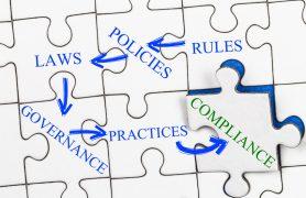 Compliance Puzzle Konzept