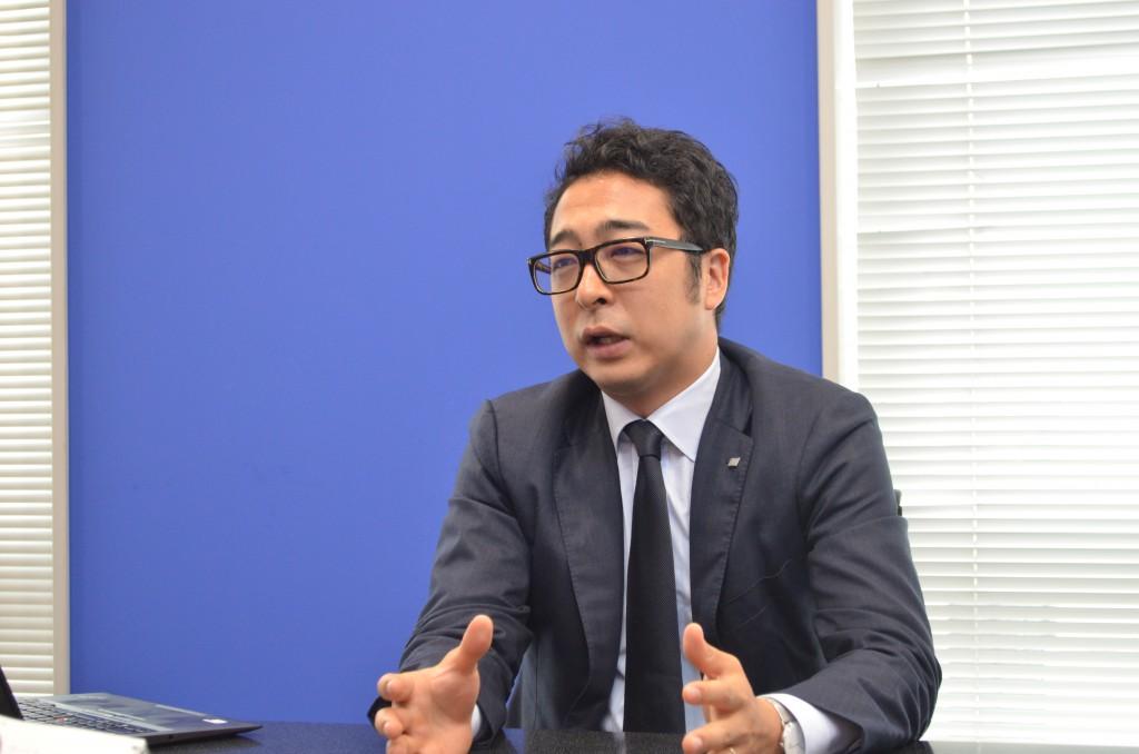 株式会社リンクアンドモチベーション エントリーマネジメントカンパニー長の高嶋大生氏